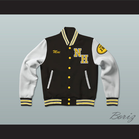 Snoop Dogg N. Hale High School Varsity Letterman Jacket-Style Sweatshirt