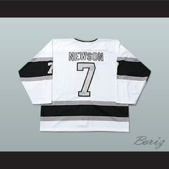 New Haven Knights UHL Billy Newson Hockey Jersey Any Player or Number - borizcustom