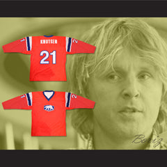 Norway Espen Knutsen Hockey Jersey Any Player or Number New - borizcustom
