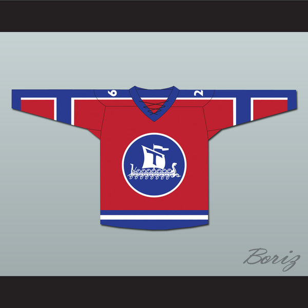 Norway Hockey Jersey Any Player or Number NEW - borizcustom