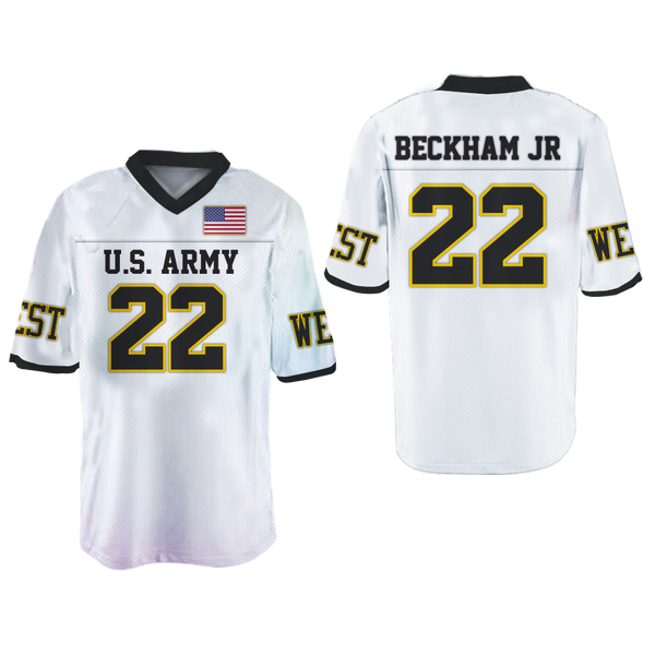 the best attitude 020ea 02998 Odell Beckham Jr. 22 U.S. Army Football Jersey stitch Colors