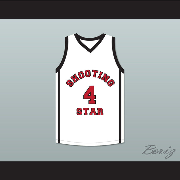 official photos d244f dccf7 Willie McGee 4 Ohio Shooting Stars AAU White Basketball Jersey More Than A  Game