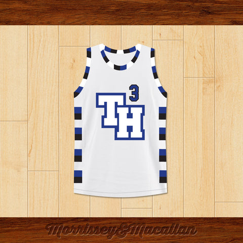 Lucas Scott 3 One Tree Hill Ravens Basketball Jersey by Morrissey&Macallan - borizcustom