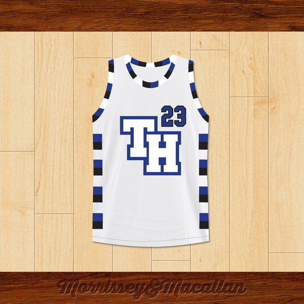 f7ea28836 Product Image Nathan Scott 23 One Tree Hill Ravens Basketball Jersey by  Morrissey Macallan - borizcustom ...