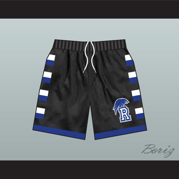 One Tree Hill Ravens Black Basketball Shorts - borizcustom