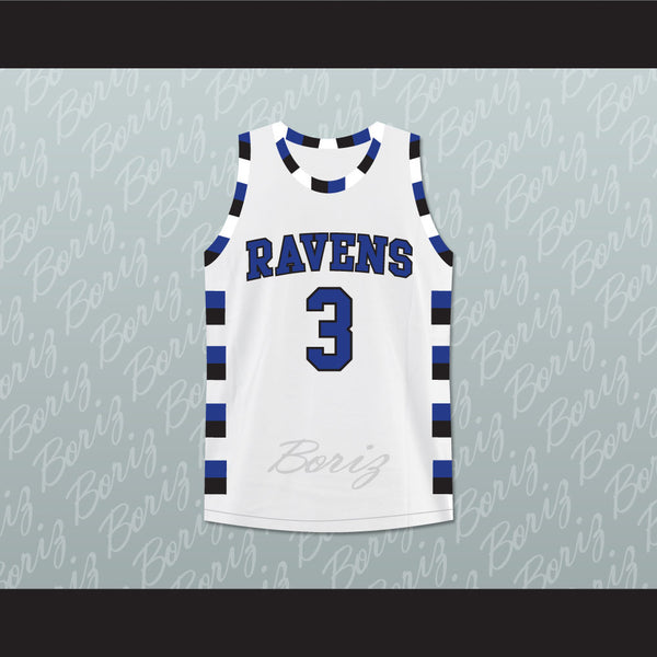 Antwon Skills Taylor 3 One Tree Hill Ravens Basketball Jersey ...