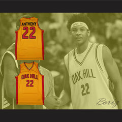 Carmelo Anthony Oak Hill Academy Basketball Jersey Stitch Sewn - borizcustom
