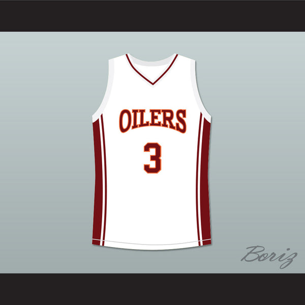 Antwon Tanner Jaron 'Worm' Willis 3 Richmond Oilers Away Basketball Jersey Coach Carter - borizcustom