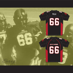 66 Pala Mean Machine Convicts Football Jersey Includes Patches - borizcustom