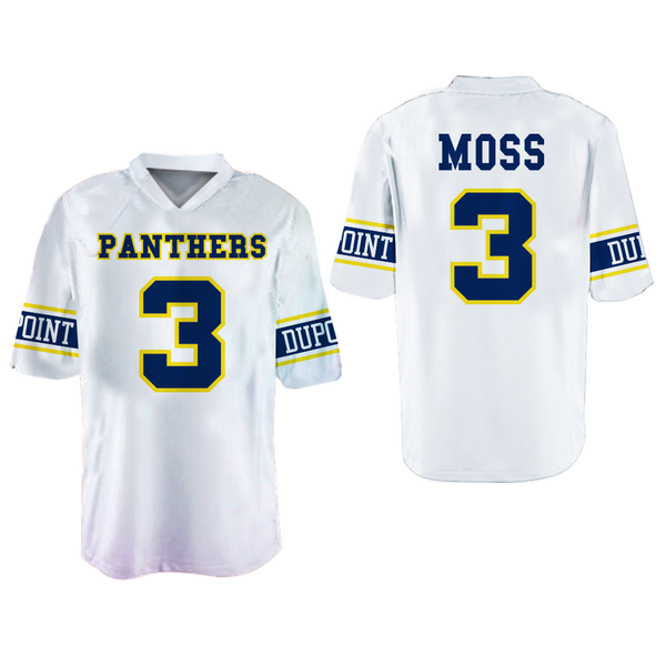 ... Randy Moss Dupont Panthers High School Away Football Jersey New Colors  ... 5a3a75eea