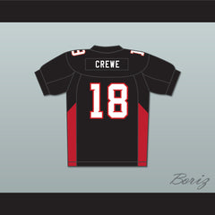 Adam Sandler 18 Paul Crewe Mean Machine Convicts Football Jersey - borizcustom