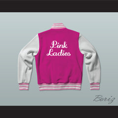 Betty Rizzo Pink Ladies Letterman Jacket-Style Sweatshirt - borizcustom - 2