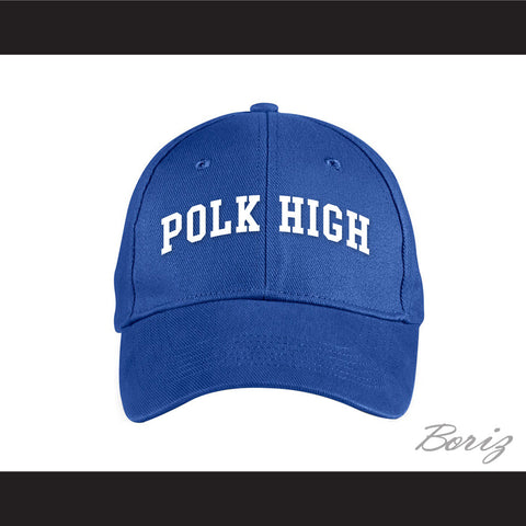 Polk High School Blue Baseball Hat Married With Children - borizcustom