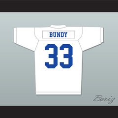 Al Bundy 33 Polk High White Football Jersey Married With Children Ed O' Neill Stitch Sewn - borizcustom