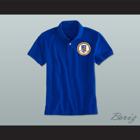 Degrassi Community School Panthers Blue Polo Shirt - borizcustom - 1