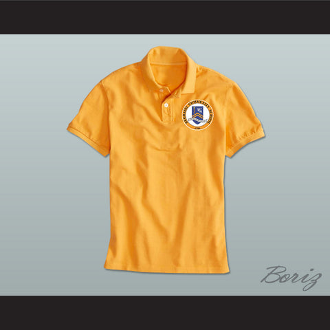 Degrassi Community School Panthers Yellow Polo Shirt - borizcustom - 1