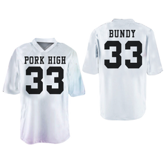 Al Bundy 33 Polk High Football Jersey with Married With Children Stitch Colors