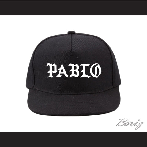 Pablo Escobar Black Baseball Hat