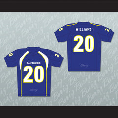 Friday Night Lights Brian 'Smash' Williams 20 Dillon High School Panthers Football Jersey - borizcustom