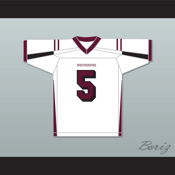 differently b84f2 538f4 Patrick Mahomes 5 Whitehouse High School White Football Jersey