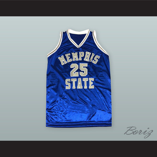 sports shoes 59451 6c219 Anfernee 'Penny' Hardaway 25 Memphis State Basketball Jersey