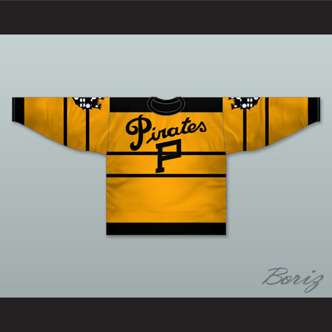 1925-28 Pittsburgh Hockey Jersey with Patches - borizcustom