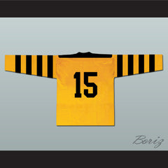 Pittsburgh Yellow Jackets Hockey Jersey Any Player or Number - borizcustom - 2