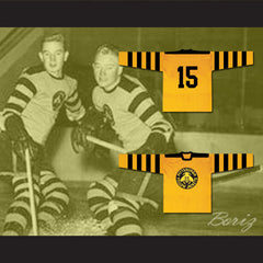 Pittsburgh Yellow Jackets Hockey Jersey Any Player or Number - borizcustom - 3