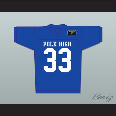 Al Bundy 33 Polk High Football Jersey with Married With Children Patch - borizcustom