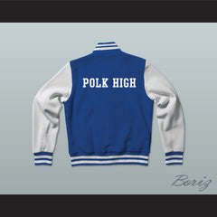 Al Bundy Polk High School Blue Varsity Letterman Jacket-Style Sweatshirt Married With Children - borizcustom - 2