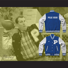 Al Bundy Polk High School Blue Varsity Letterman Jacket-Style Sweatshirt Married With Children - borizcustom - 3