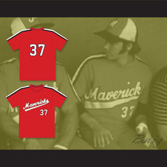 Gene Lanthorn 37 Portland Mavericks Baseball Jersey The Battered Bastards of Baseball