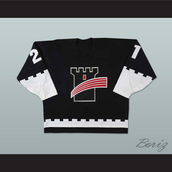 Quebec Remparts Black Hockey Jersey - borizcustom