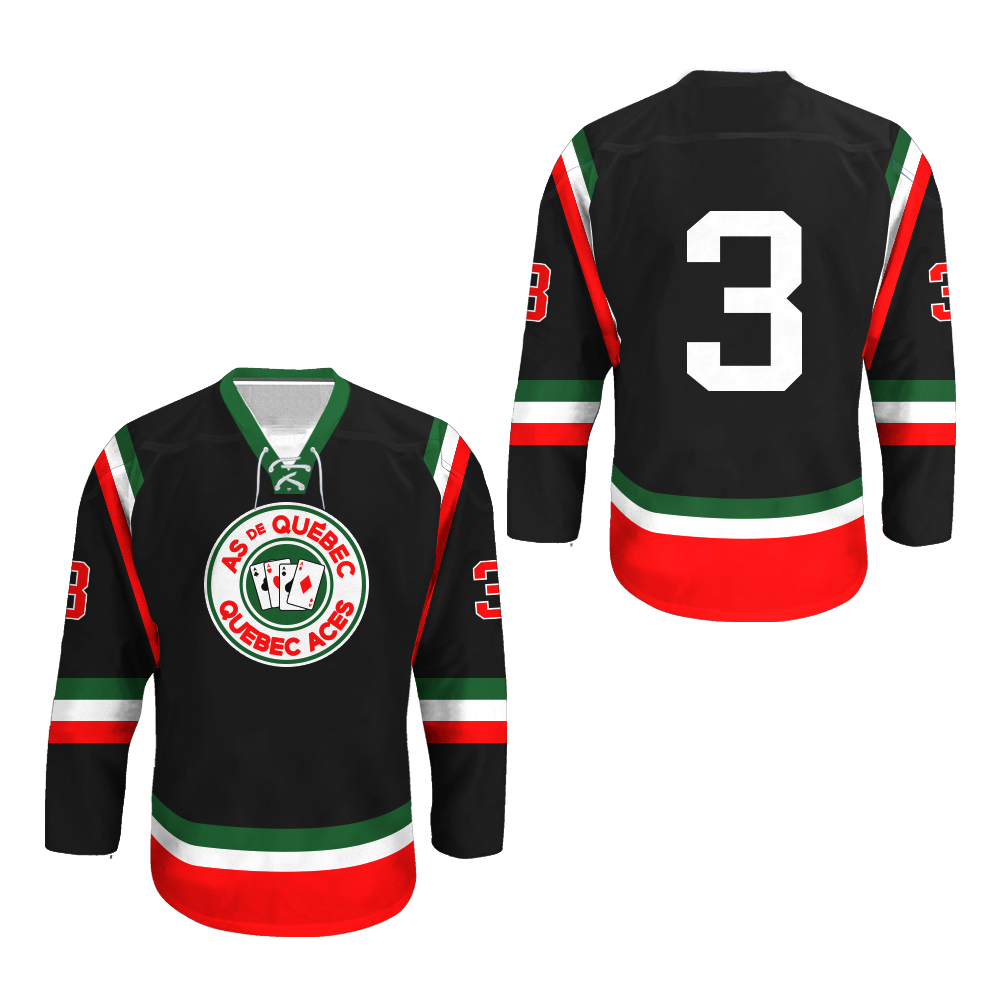 Quebec Aces Hockey Jersey NEW Any Size Any Player or ...
