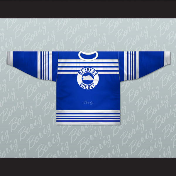 Quebec Castors 1926-28 Hockey Jersey Any Number or Player New - borizcustom