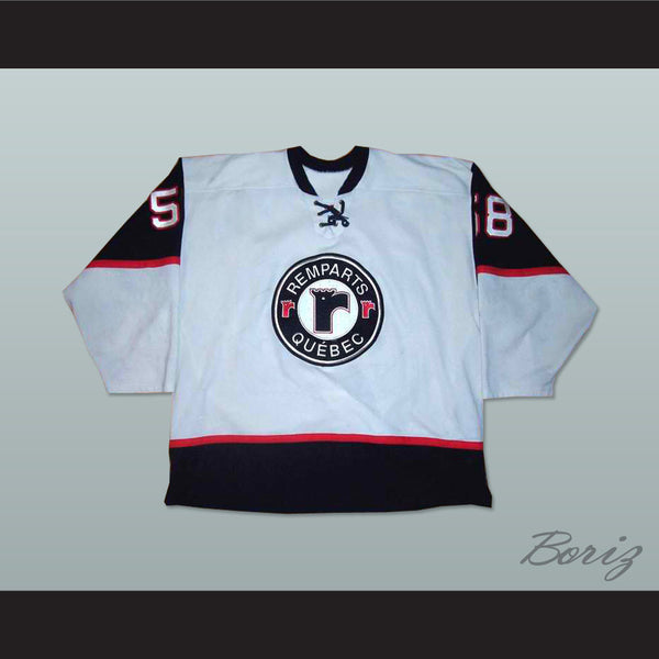 Quebec Remparts Gray Hockey Jersey - borizcustom - 1