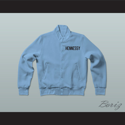 Havoc 95 Hennessy Queens Bridge Blue Varsity Letterman Jacket-Style Sweatshirt - borizcustom - 1