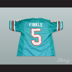 Ray Finkle 5 Novelty Football Jersey Ace Ventura Movie Reference Stitch Sewn New All Sizes - borizcustom - 2