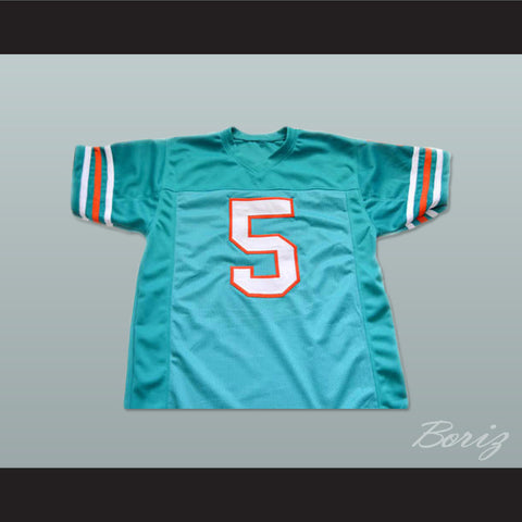 Ray Finkle 5 Novelty Football Jersey Ace Ventura Movie Reference Stitch Sewn New All Sizes - borizcustom
