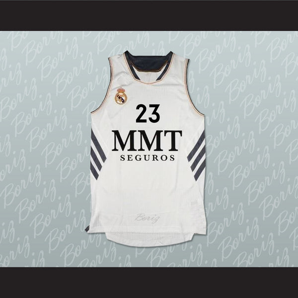 Sergio Llull Real Madrid Spain Basketball Jersey Any Player Stitch Sewn - borizcustom - 1