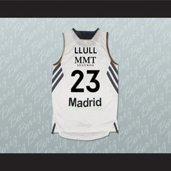 Sergio Llull Real Madrid Spain Basketball Jersey Any Player Stitch Sewn - borizcustom - 2