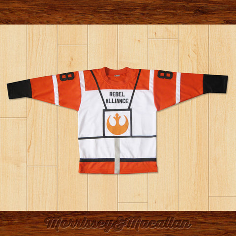Skywalker Rebel Alliance Hockey Jersey by Morrissey&Macallan - borizcustom - 1