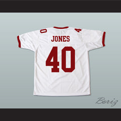 Donald Faison Petey Jones T. C. Williams High School Titans Football Jersey - borizcustom