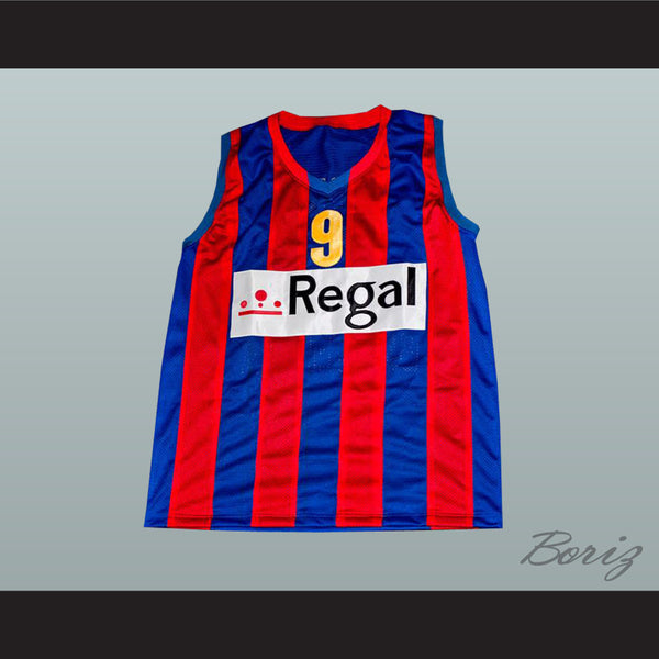 Ricky Rubio Basketball Jersey Sewn Stitch Barcelona Spain All Sizes New - borizcustom - 1