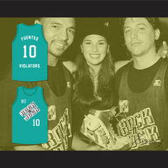 Daisy Fuentes 10 Violators Basketball Jersey 3rd Annual Rock N' Jock B-Ball Jam 1993