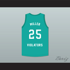 Oliver Miller 25 Violators Basketball Jersey 3rd Annual Rock N' Jock B-Ball Jam 1993