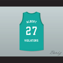 Steve Albert 27 Violators Basketball Jersey 3rd Annual Rock N' Jock B-Ball Jam 1993