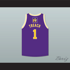 Treach 1 Bricklayers Basketball Jersey 5th Annual Rock N' Jock B-Ball Jam 1995