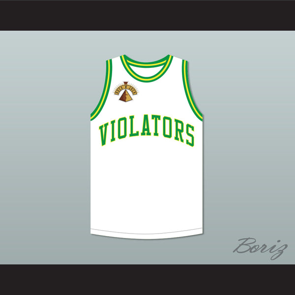 Jason Kidd 5 Violators Basketball Jersey 5th Annual Rock N' Jock B-Ball Jam 1995
