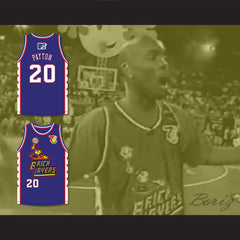 Gary Payton 20 Bricklayers Basketball Jersey 7th Annual Rock N' Jock B-Ball Jam 1997
